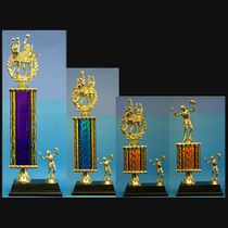 Volleyball Column Trophies